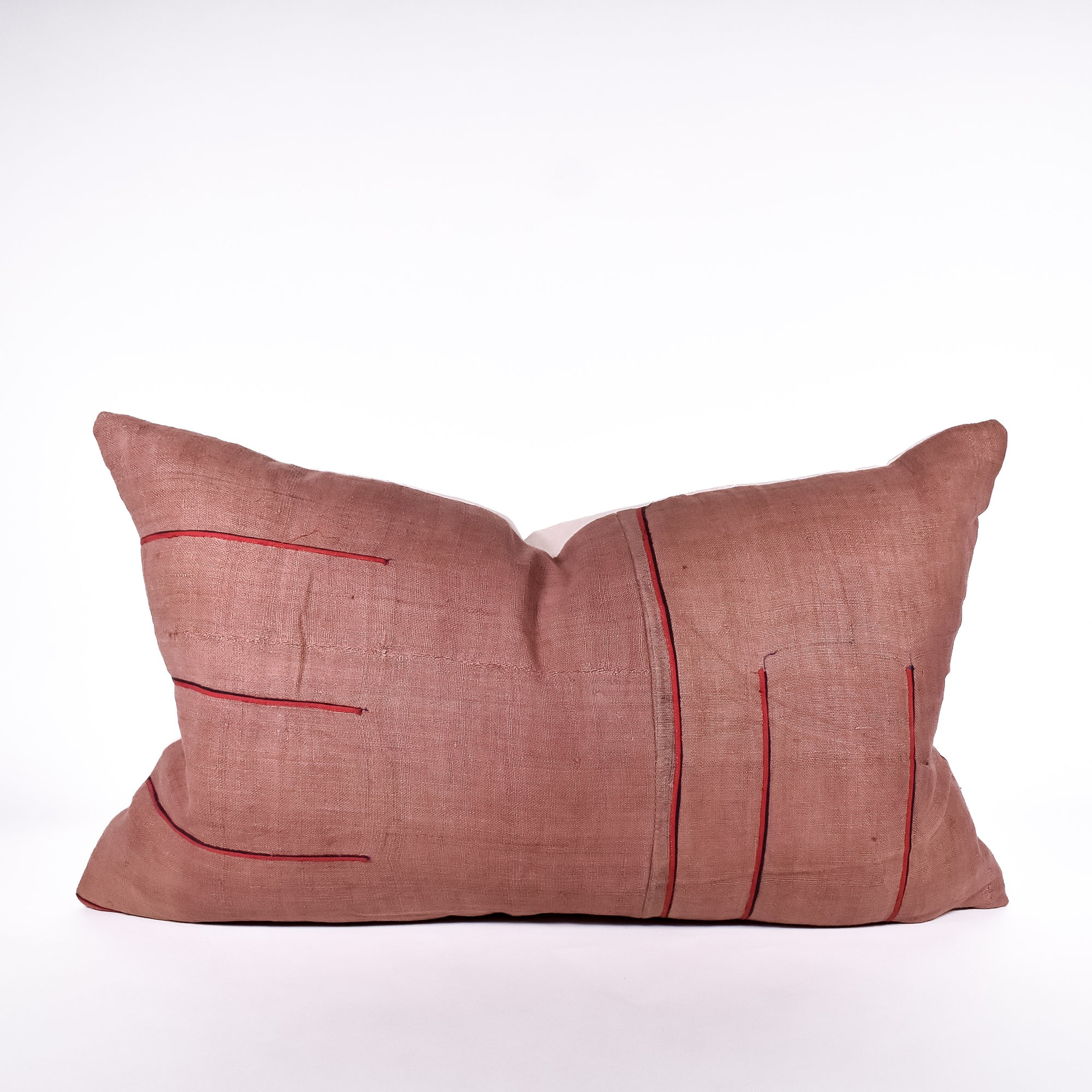 Rust Hmong Pillow
