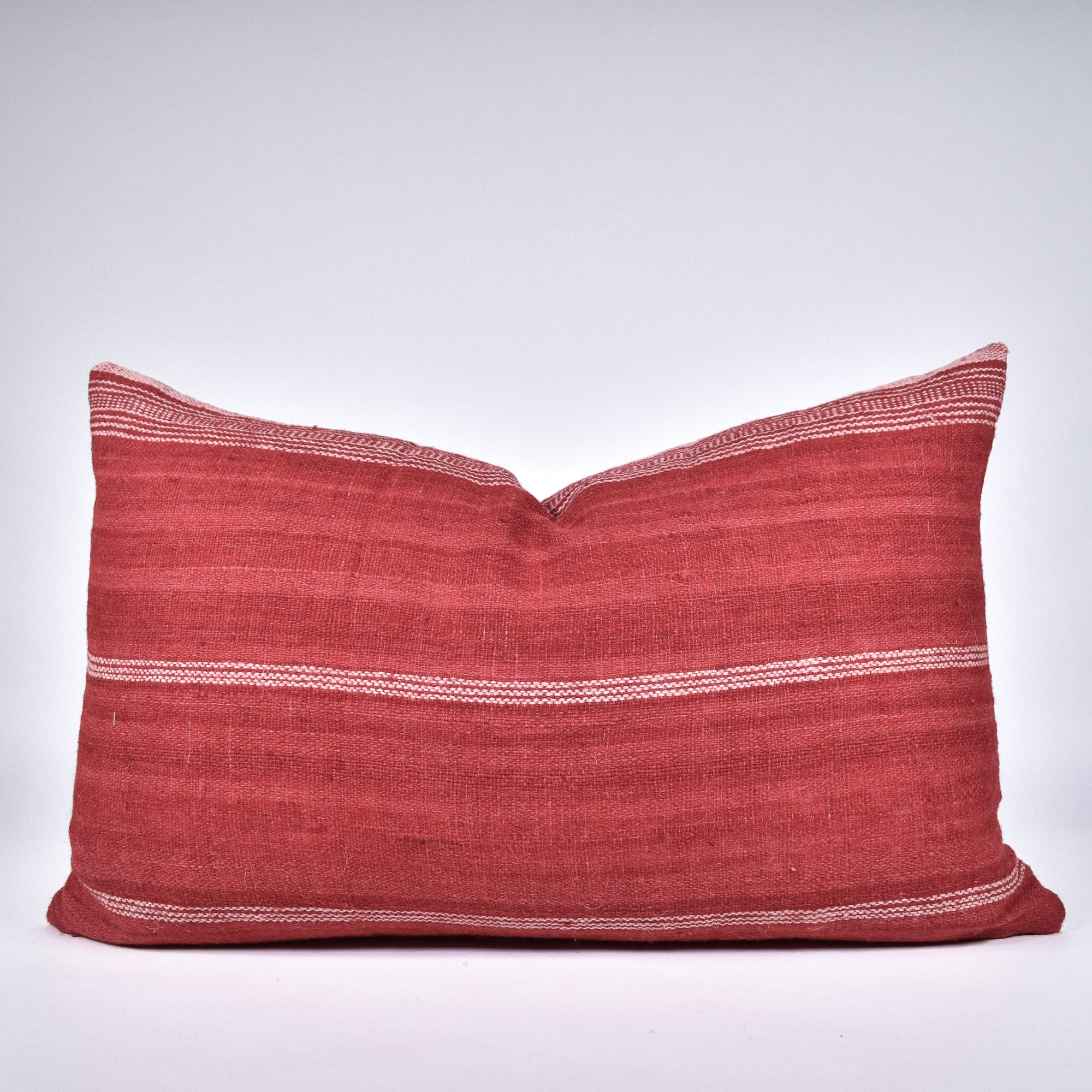Red Bhujodi Pillow