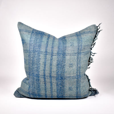 Teal Bhujodi Pillow