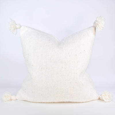 Moroccan Pom Pom Pillow - Rug & Weave