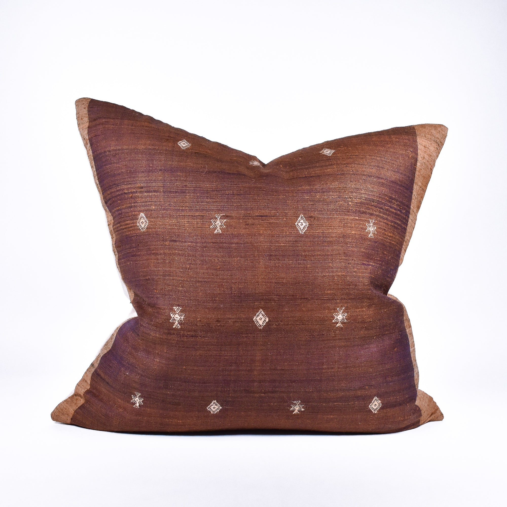 Tussar Silk & Wool Pillow