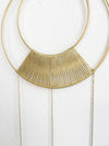 Brass Geometric Wall Hanging - Rug & Weave