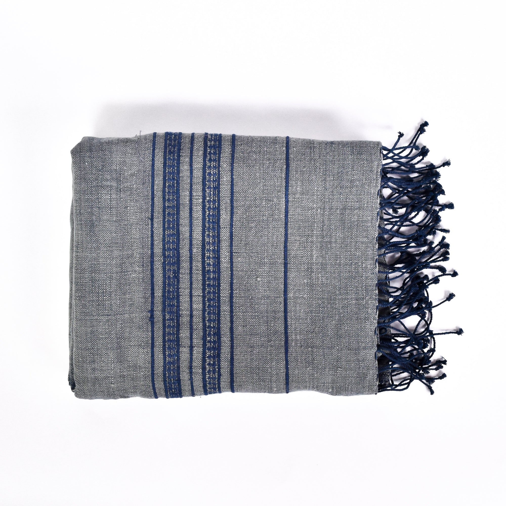 Ash Blue Bath Towel