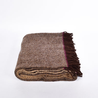 Clay Wool Blanket - Rug & Weave