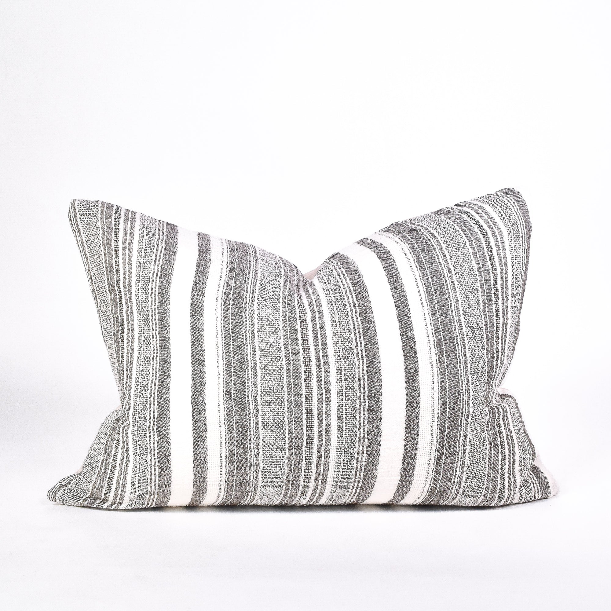 Barcode Blend Pillow - Rug & Weave
