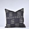 Black Mudcloth Pillow - Rug & Weave