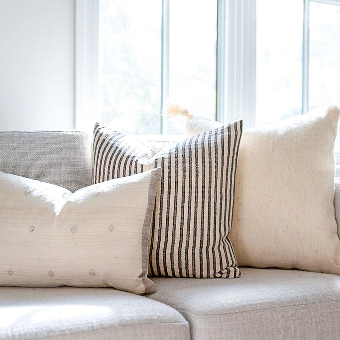 The Ivory Pillow Combo - Rug & Weave