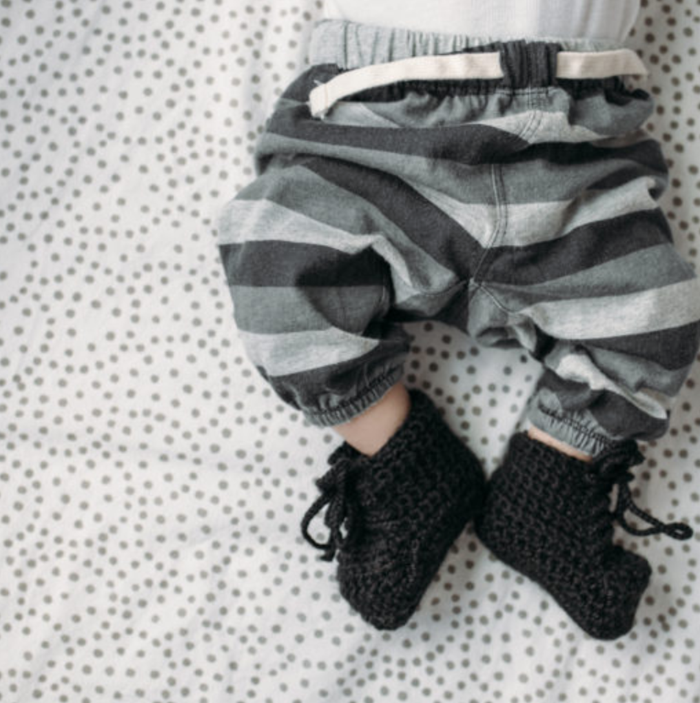 Crochet Baby Booties - Krochet Kids