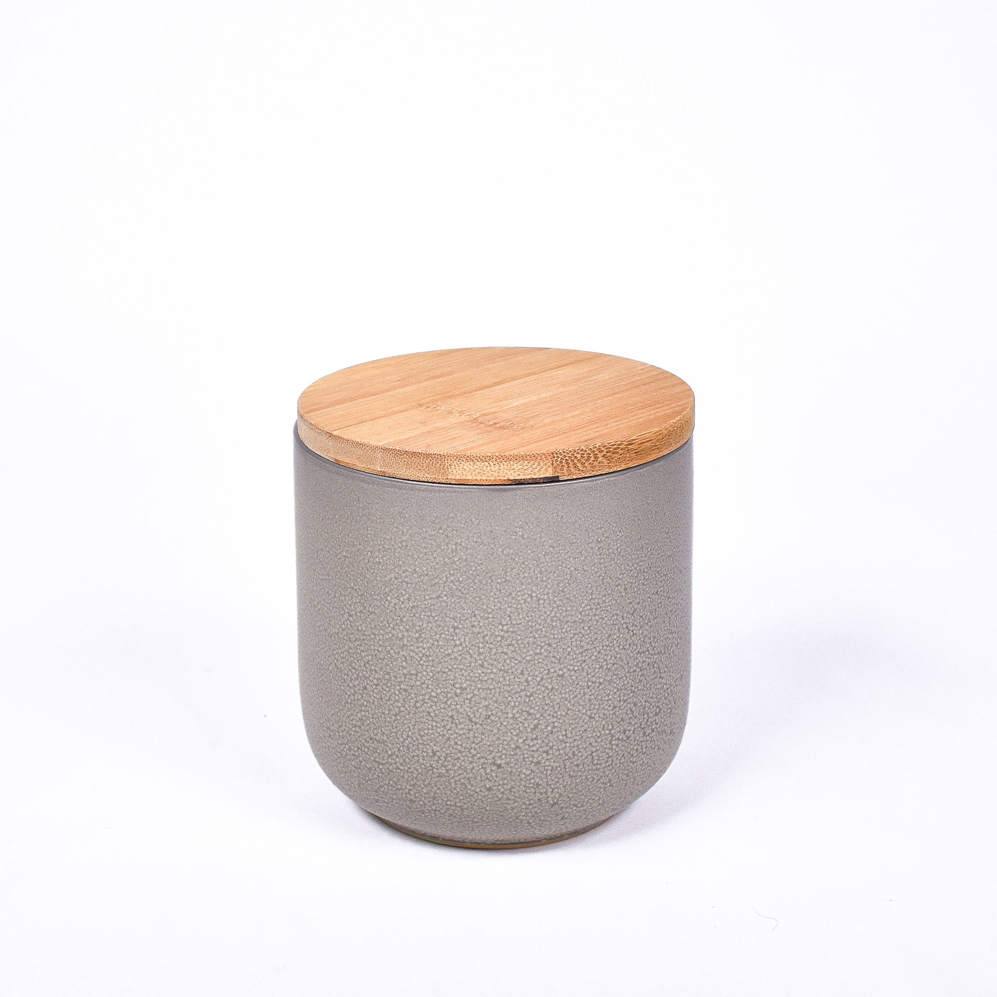 Grey Matte Canister