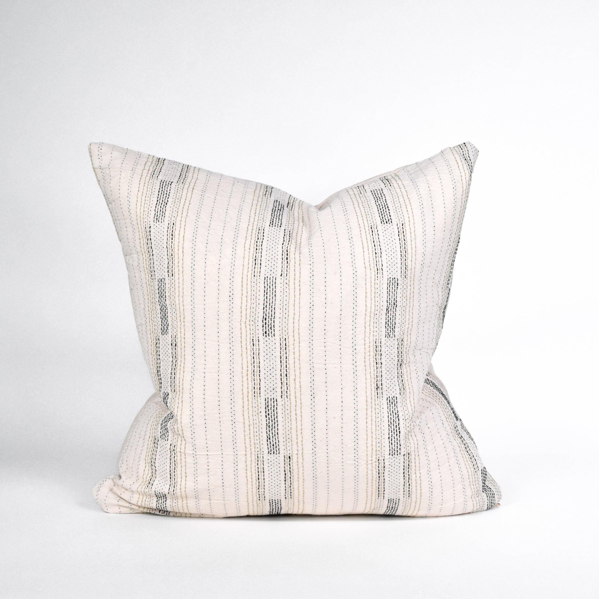 Patch Cotton Pillow - Rug & Weave