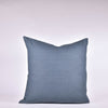 Blue Linen Pillow