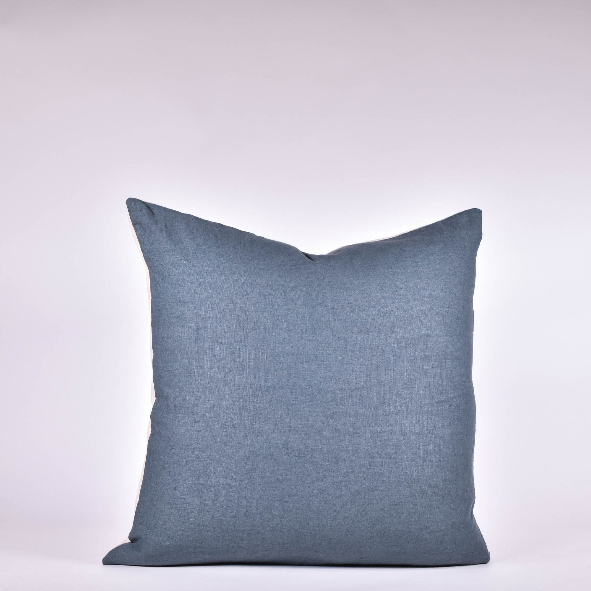 Blue Linen Pillow - Rug & Weave