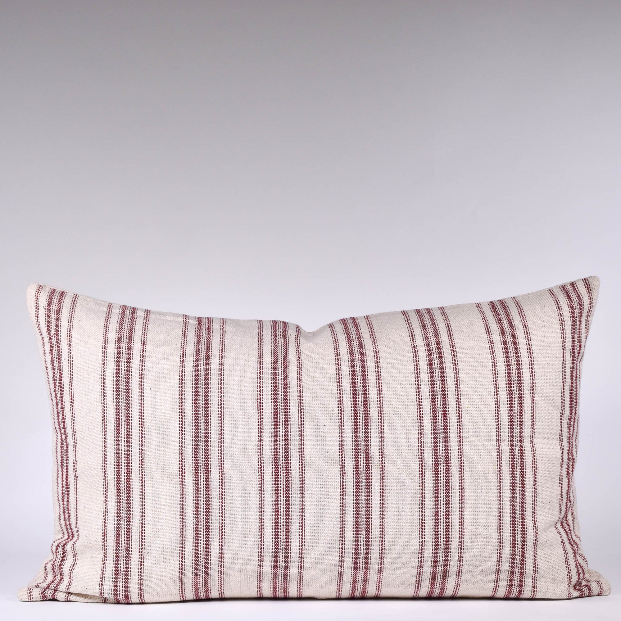 Grain Sack Lumbar Pillow - Rug & Weave