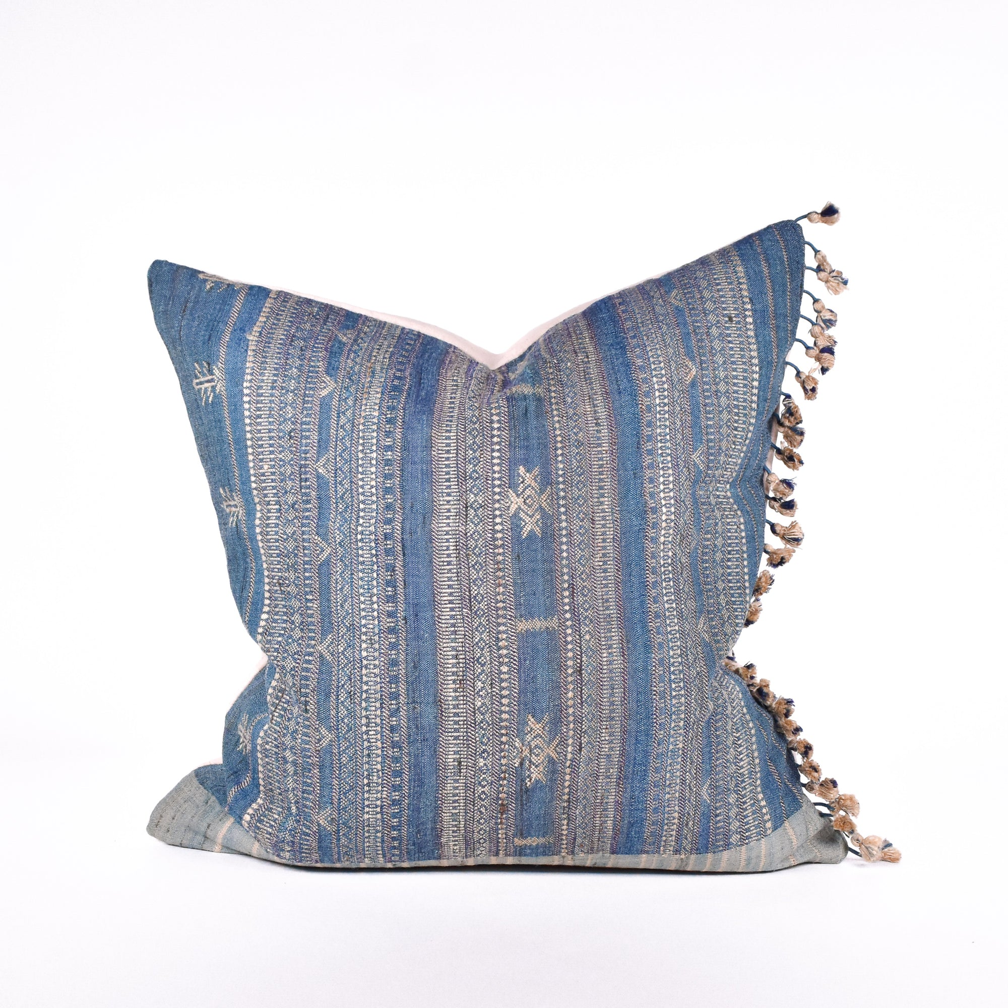 Ocean Tussar Pillow