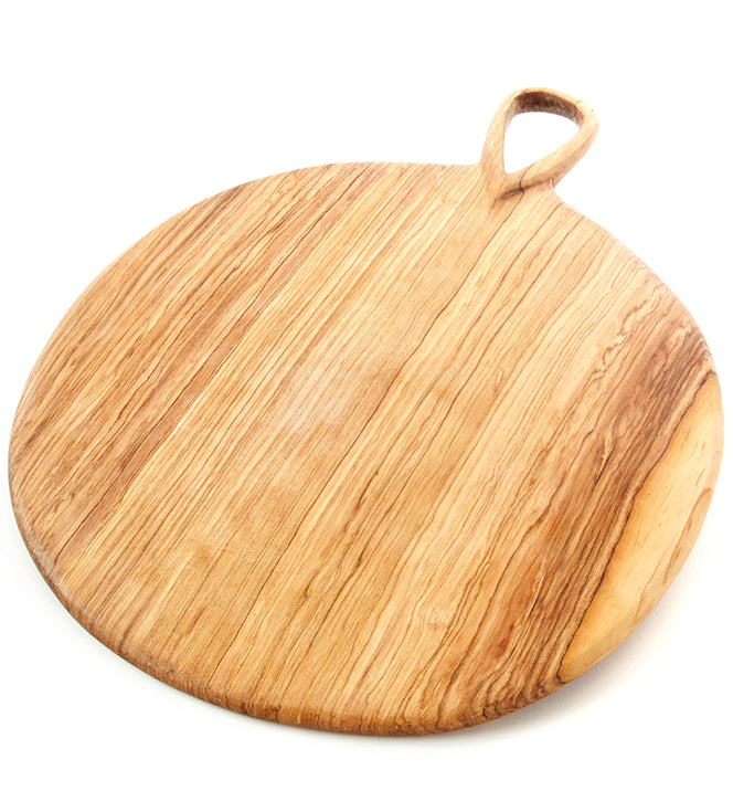 Round Olive Wood Cutting Board - Rug & Weave