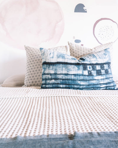 Waffle Bed Cover - Rug & Weave