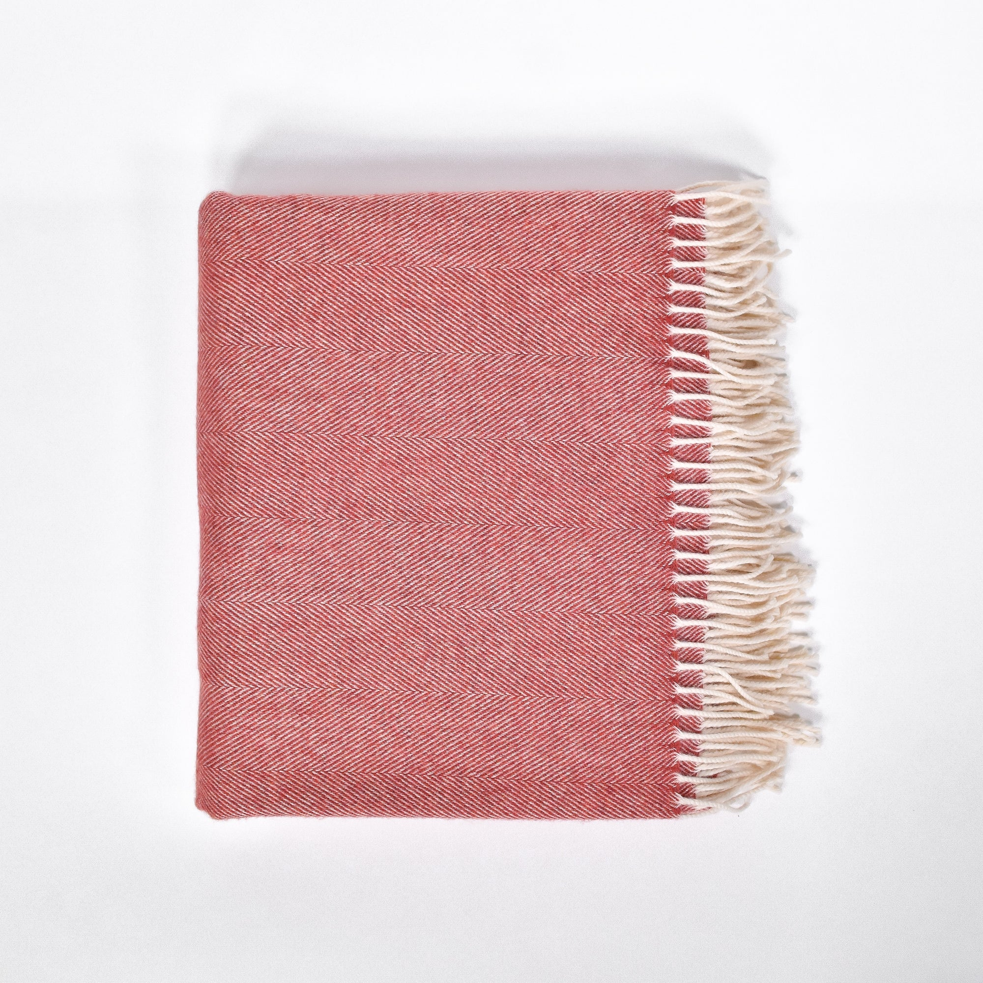The Cayenne Wool Blanket - Rug & Weave