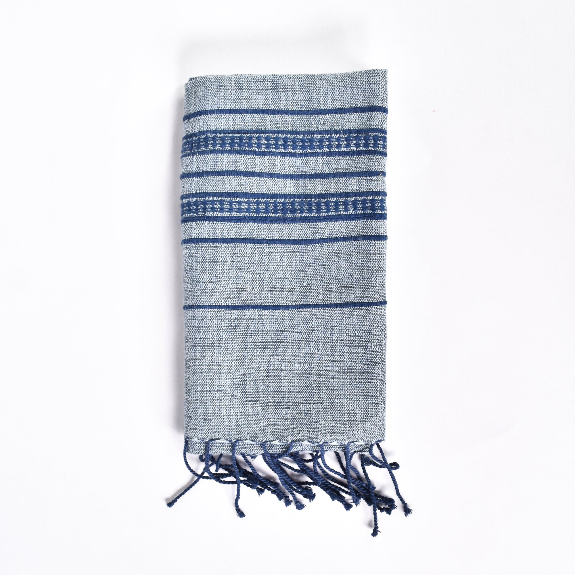 Ice Blue Kitchen Towel - Rug & Weave