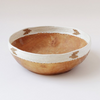 Large White Arrow Copabu Bowl