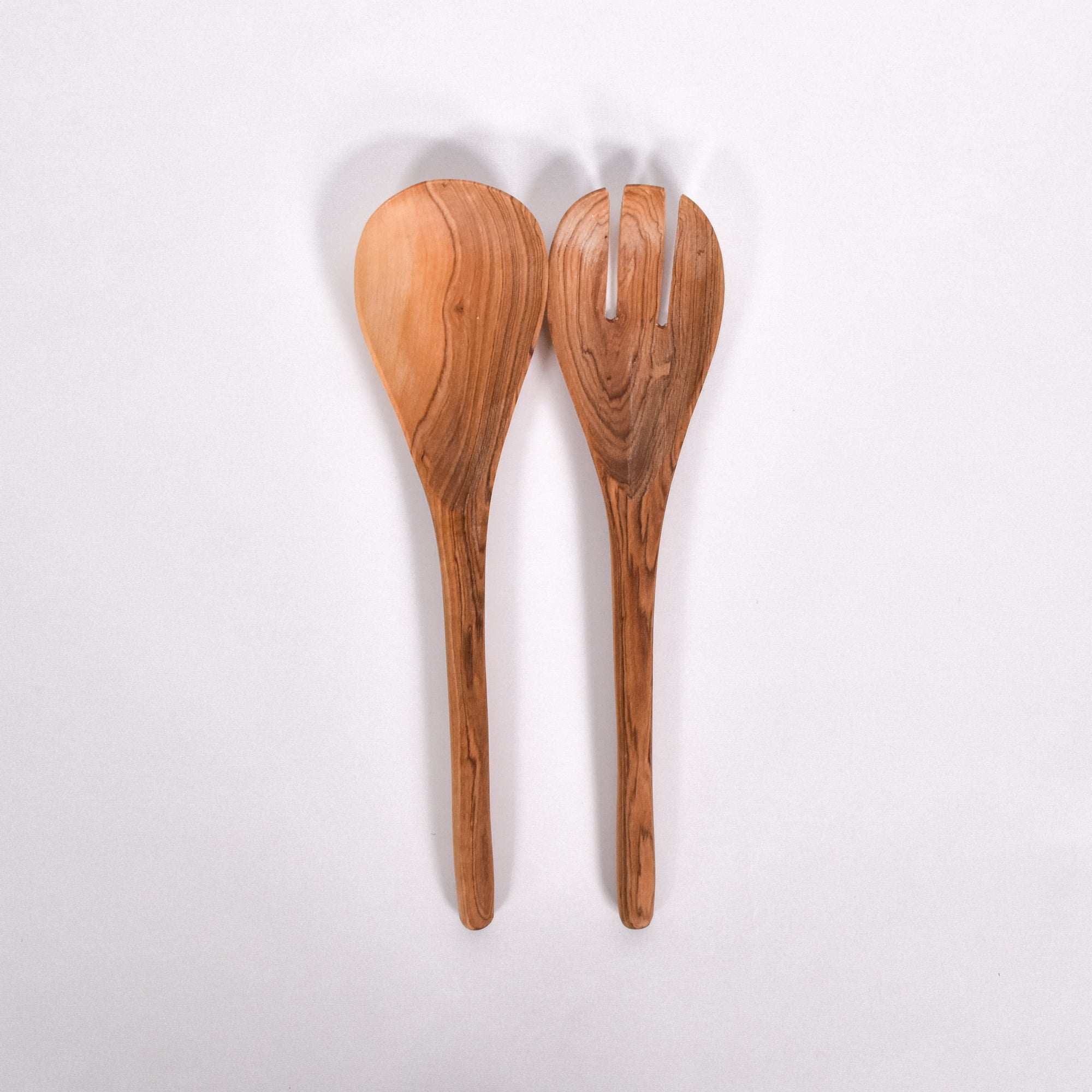 Simple Salad Servers - Rug & Weave