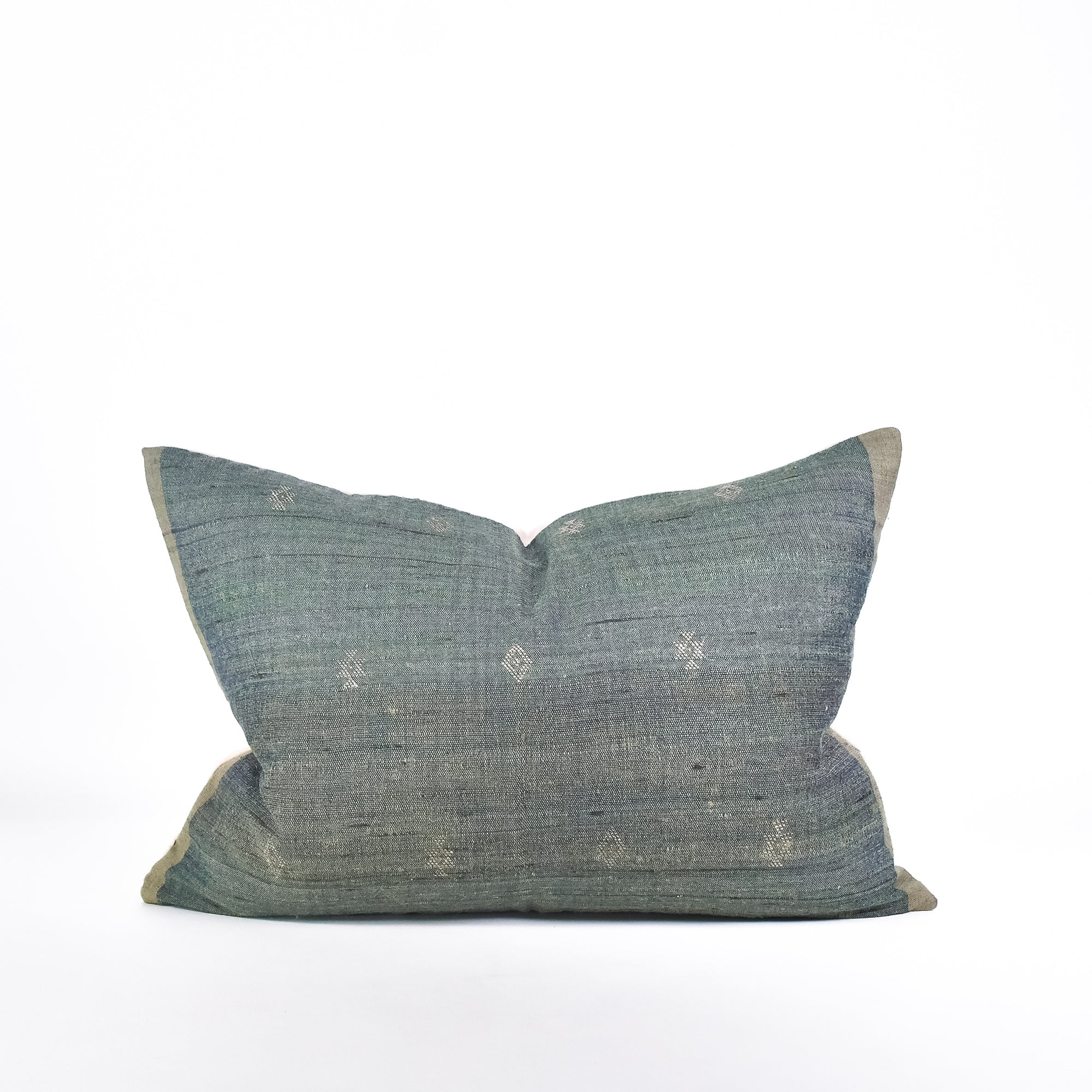 Sage Tussar Pillow