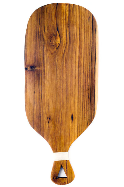 Large Wild Olive Cheese Board with White Bone Inlay - Rug & Weave - 1