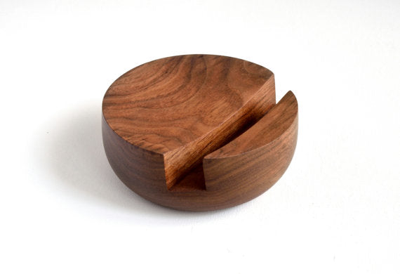 Tablet & Phone Stand - Walnut - Rug & Weave
