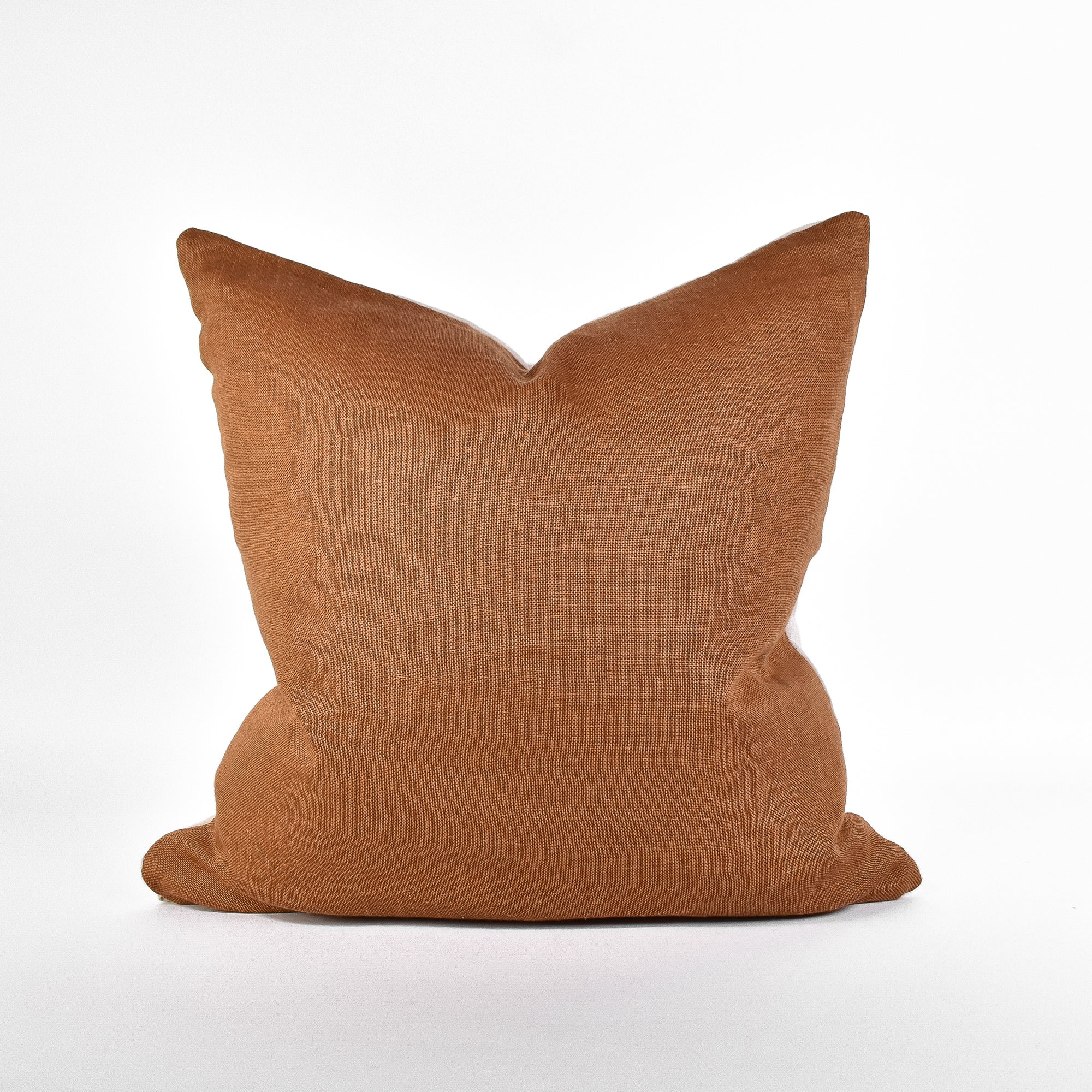 Pumpkin Spice Linen Pillow