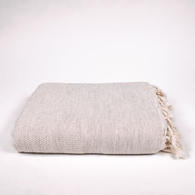 Tan Throw