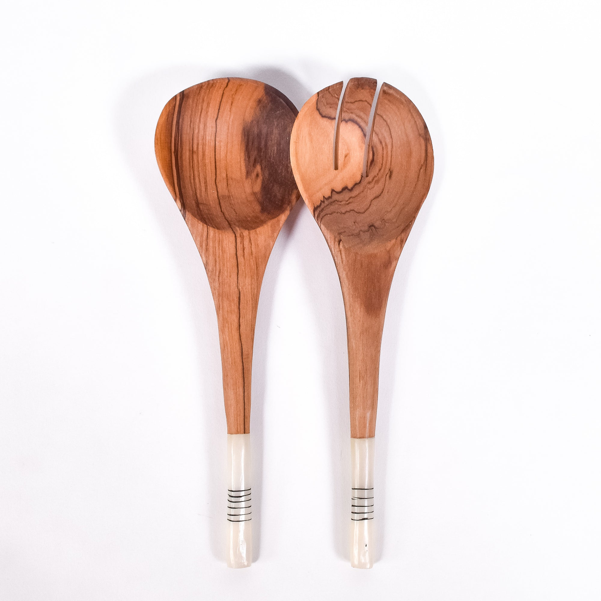 Short & Sweet Salad Servers - Rug & Weave