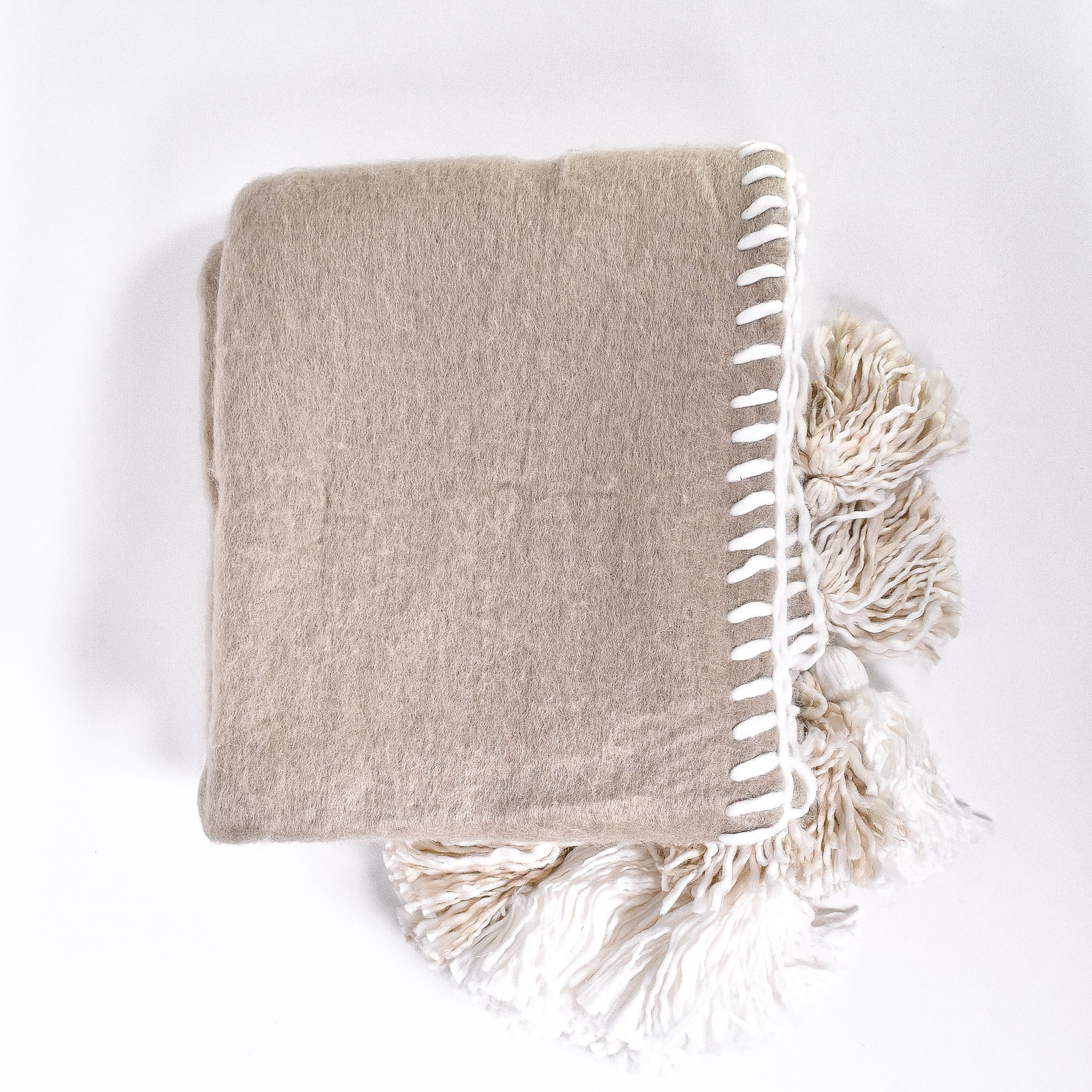 Tassle & Trim Throw - Rug & Weave