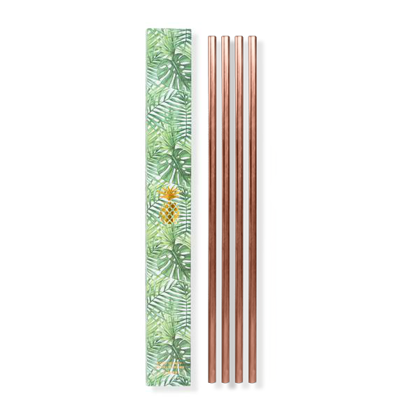 Copper Metal Straws - Rug & Weave