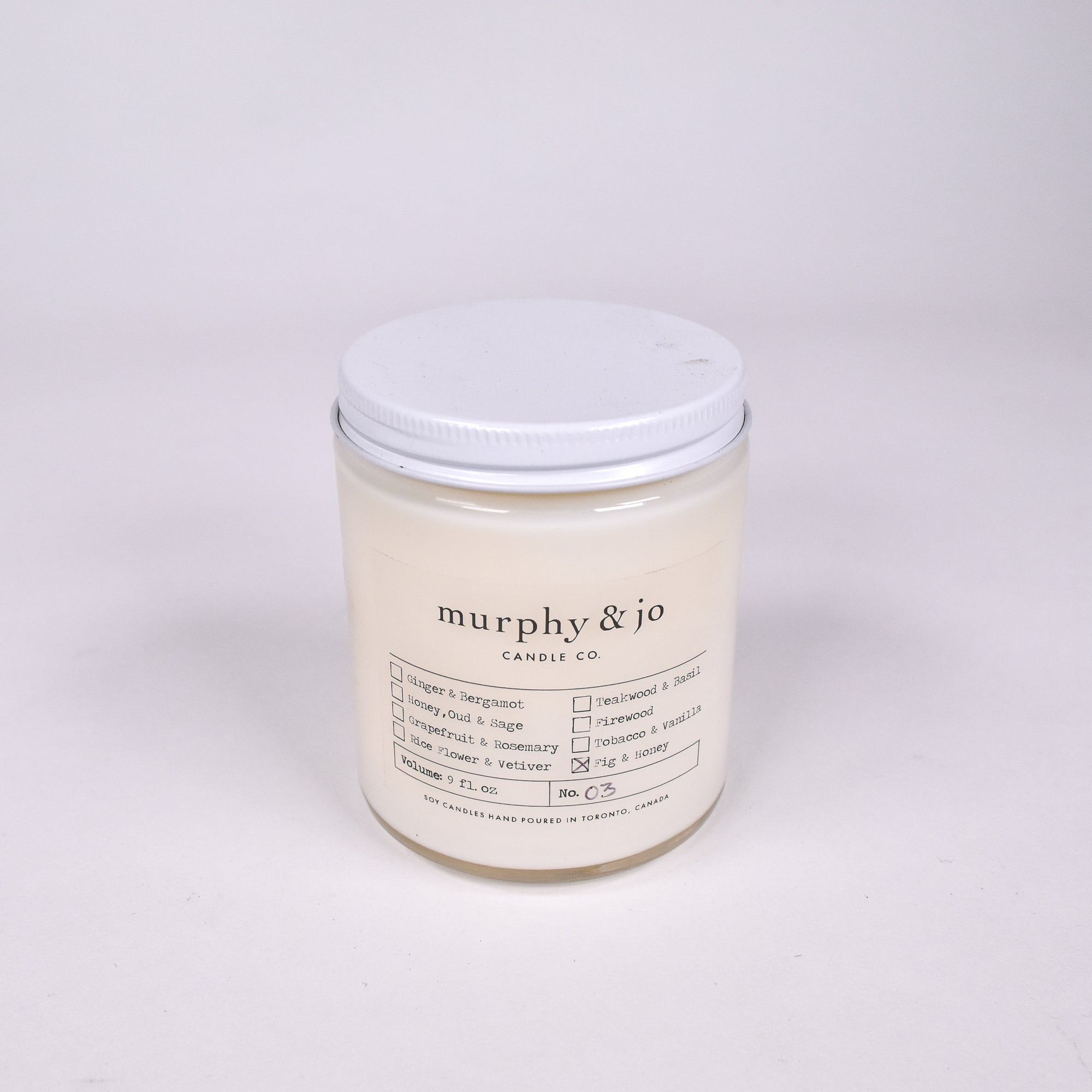 Fig & Honey 9oz. Candle - Rug & Weave