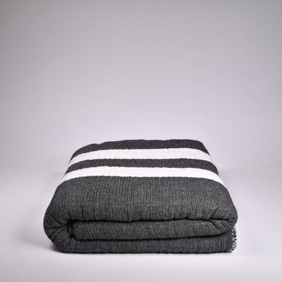 Wool Cocoon Throw - Rug & Weave