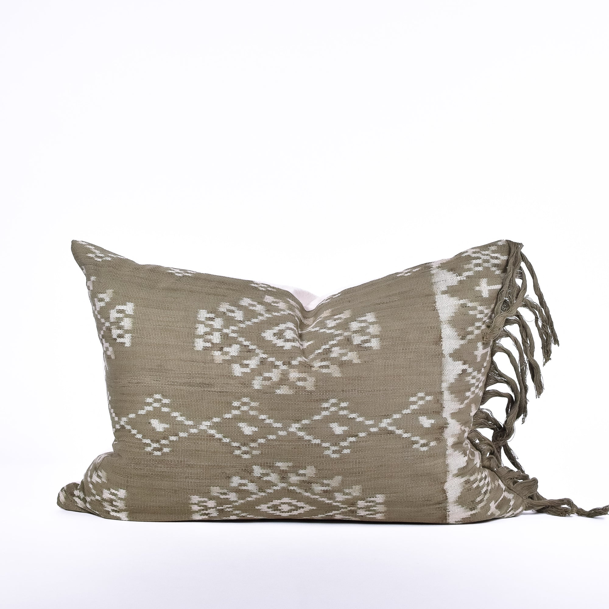 Marsh Ikat Pillow - Rug & Weave