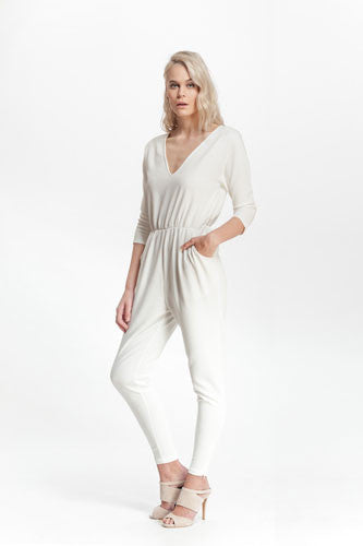 Continent 3/4th Sleeved Jumpsuit