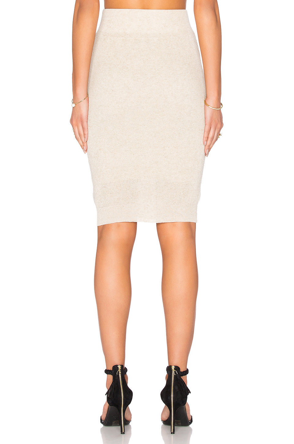 Waffle Pencil Skirt