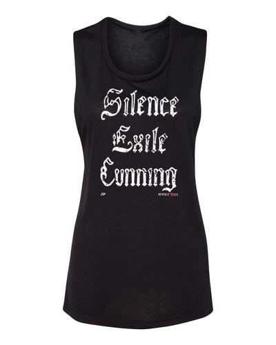 Beverly Kills Johnny Depp Silence Exile Cunning Hollywood design on comfy womens edgy streetwear tank