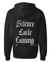 Beverly Kills Johnny Depp Silence Exile Cunning design on premium mens edgy streetwear hoodie
