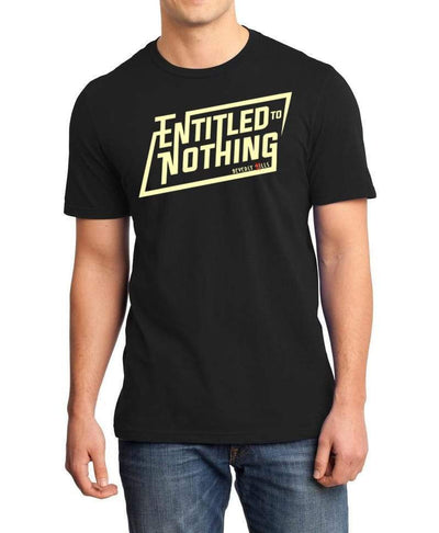 Shop Entitled To Nothing Mens T-Shirt