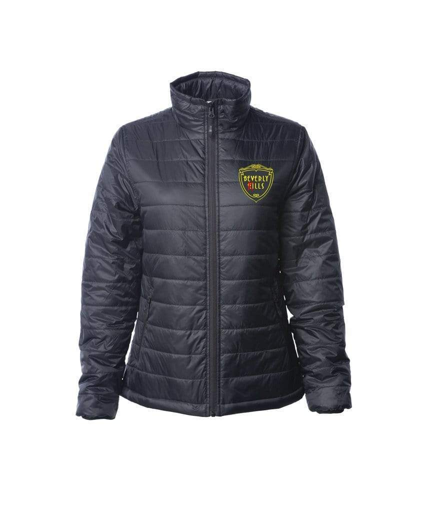 Mens Logo Sewn Rubber Patch | Puff Jacket