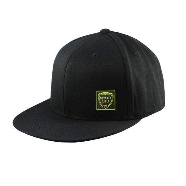 Rubber Logo | Flat Bill Snap Back Hat