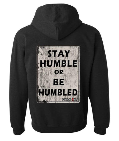 Beverly Kills Stay Humble or be humbled Hollywood design on premium mens edgy streetwear depp hoodie