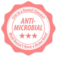 Antimicrobial materials resist mold growth.