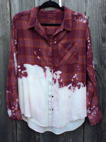Destroyed Flannel
