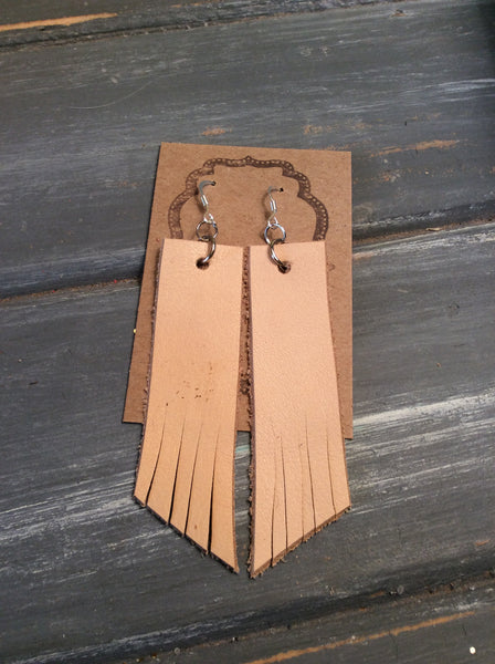 TVS Leather Earrings