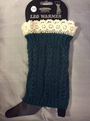 Leg Warmer-Short Green