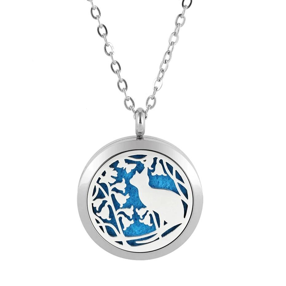 Aromatherapy Locket - Cat