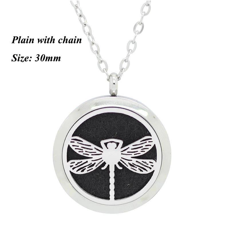 Aromatherapy Locket - Dragonfly