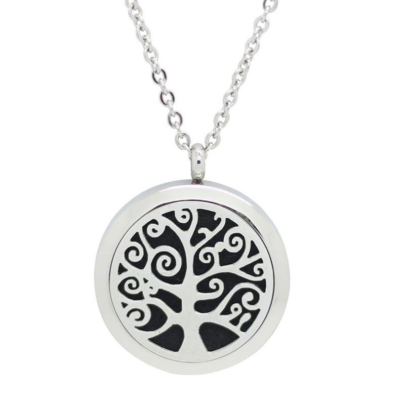 Aromatherapy Locket - Tree of Life